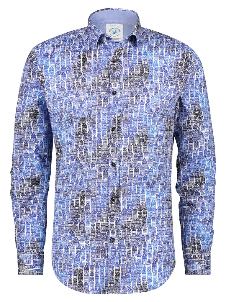 Blue Canal House LS Shirt