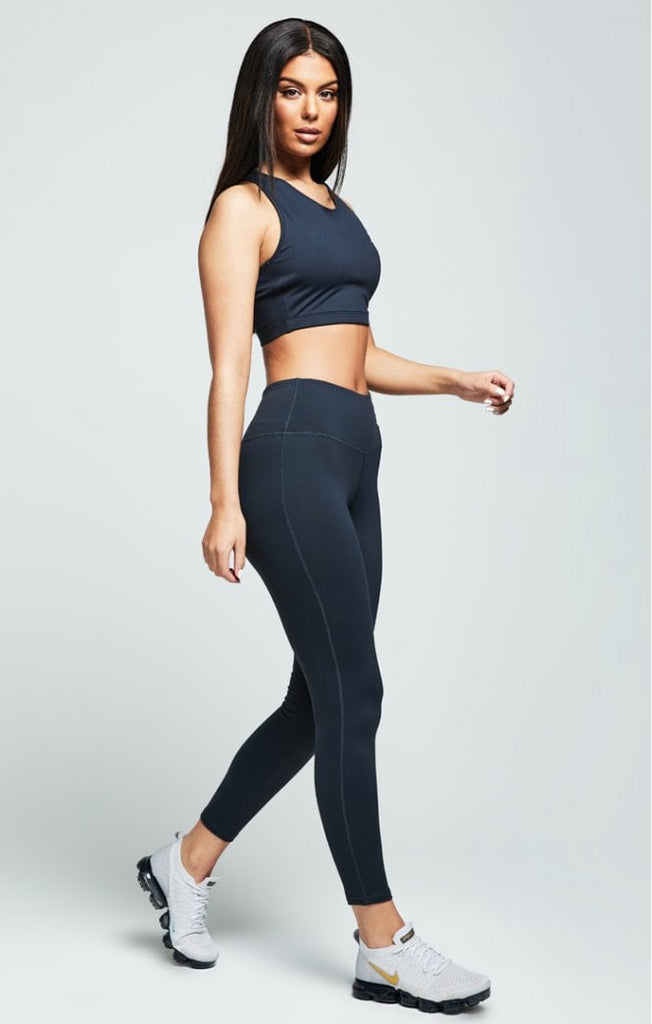 Sik Silk Core Gym Charcoal Women's Leggings