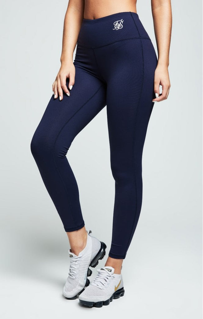 Sik Silk Core Gym Navy Women's Leggings