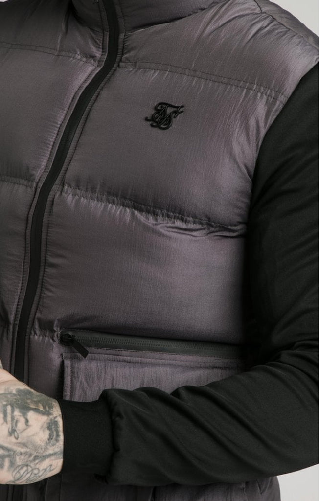 Men's Sik Silk Neo Instinct Jacket Dark Grey