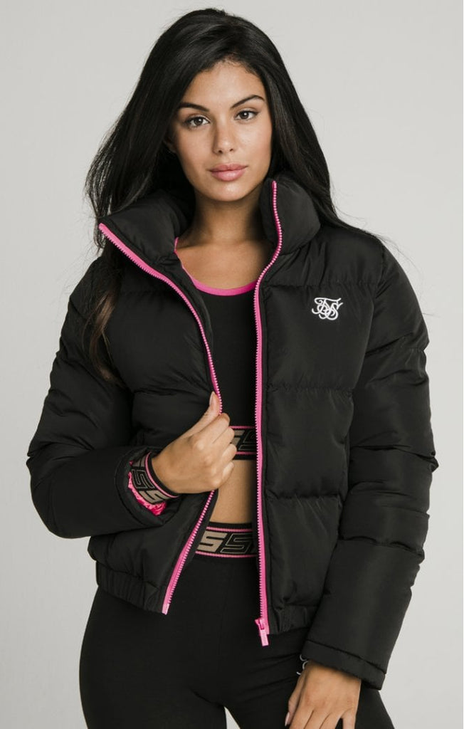 Women's Black Crop Jacket
