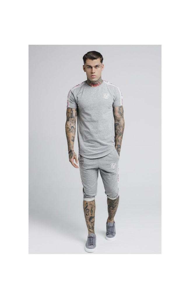 Tape Gym Grey Marl Tee