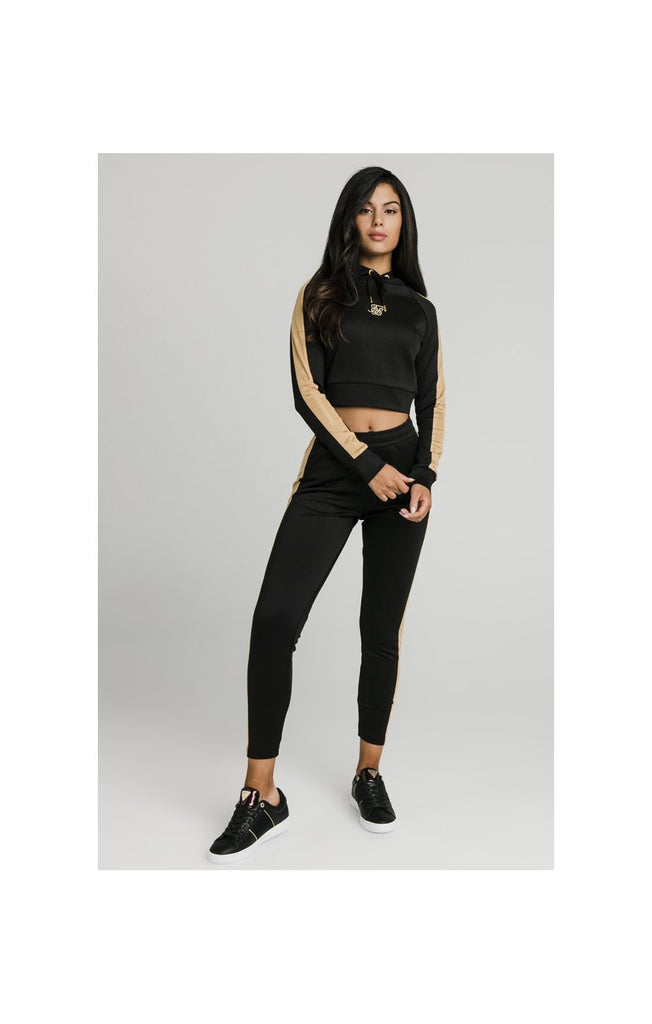 Satin Panel Track Pant front