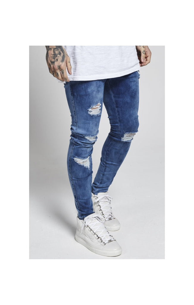 Skinny Low Rise Denims By Siksilk