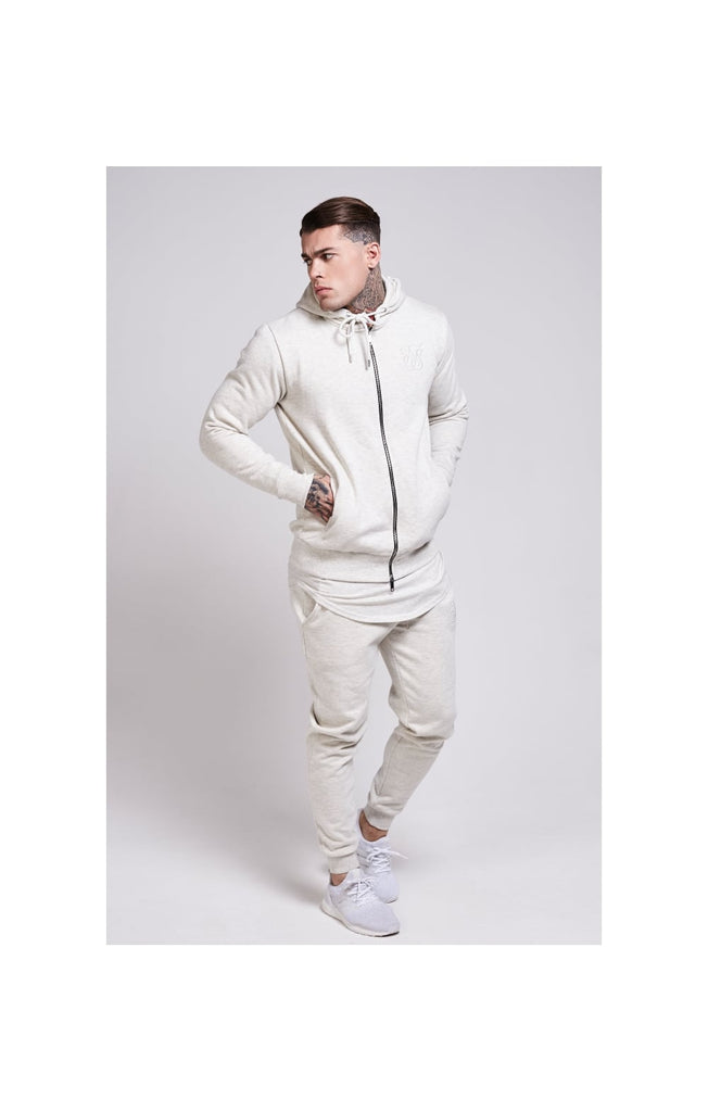 Zip Through Hoodie By SikSilk