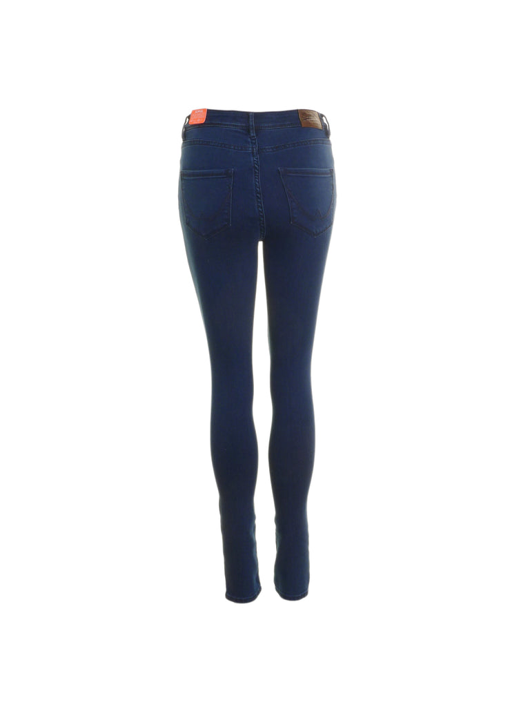 Sophia High Waist Electric Skinny Jeans By Superdry