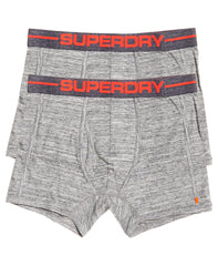 Sport Boxer Double Pack Flint Grey