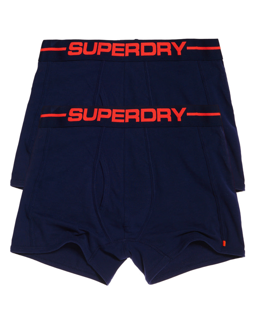 Sport Boxer Double Pack Richest Navy