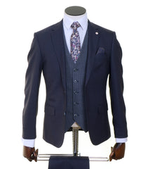 St Captain 3 Piece Suit