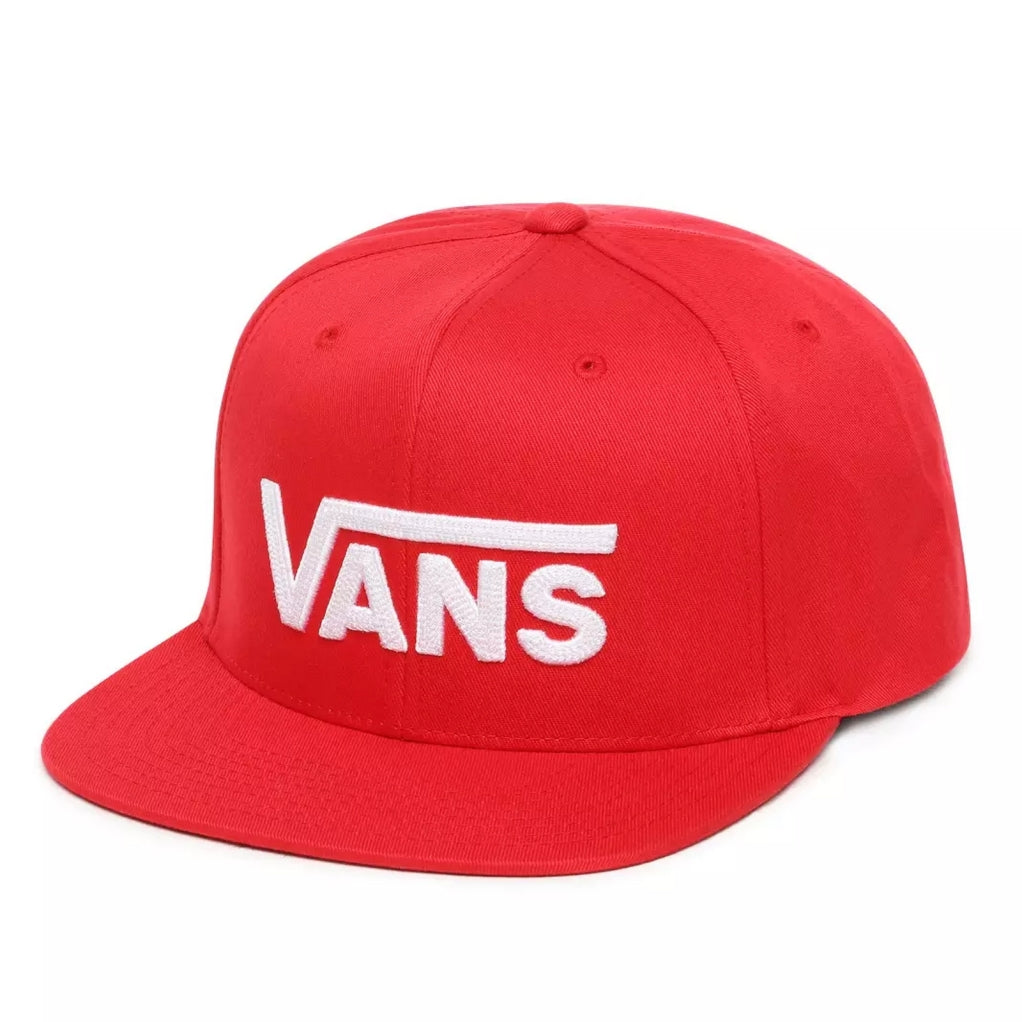 Red/ White Vans Snapback Hat. VN0A36ORIZQ1