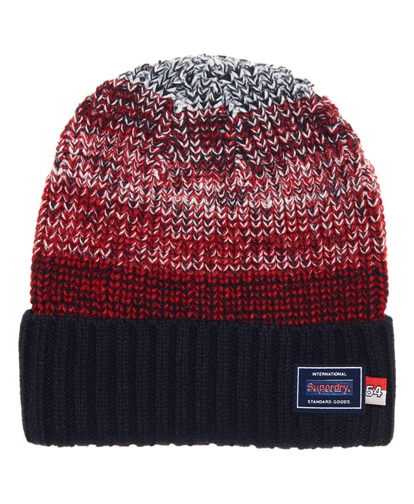 Stockholm Tri Color Beanie by Superdry
