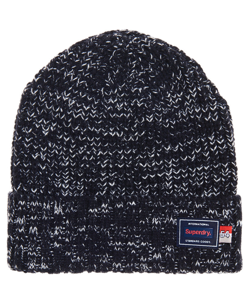 Stockholm Blue Twist Beanie by Superdry