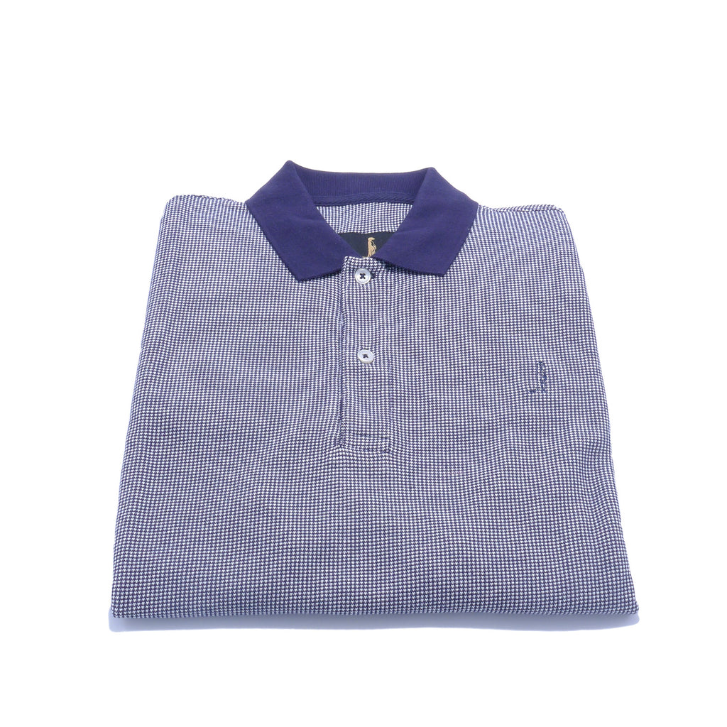 Sunny Regular Fit Polo Navy by 6th Sense