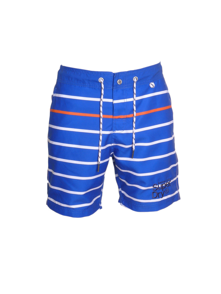 Superdry Vacation Stripe Swim Shorts