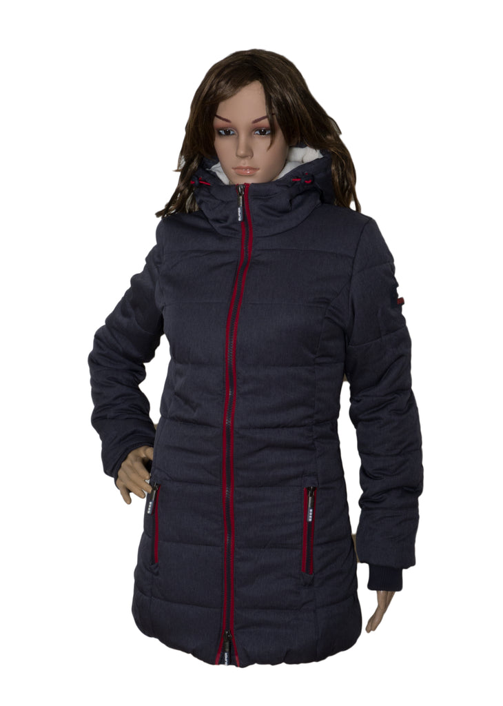 Tall Sports Puffer Jacket By Superdry Womens