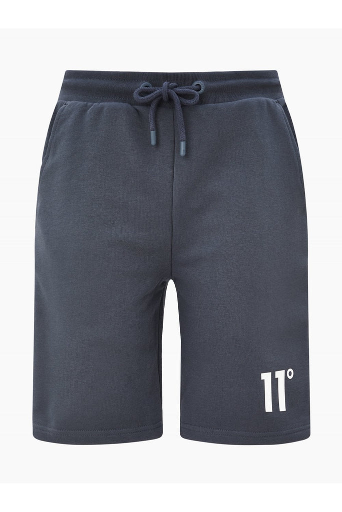 11 Degrees Taped Sweat Shorts - Anthracite/White