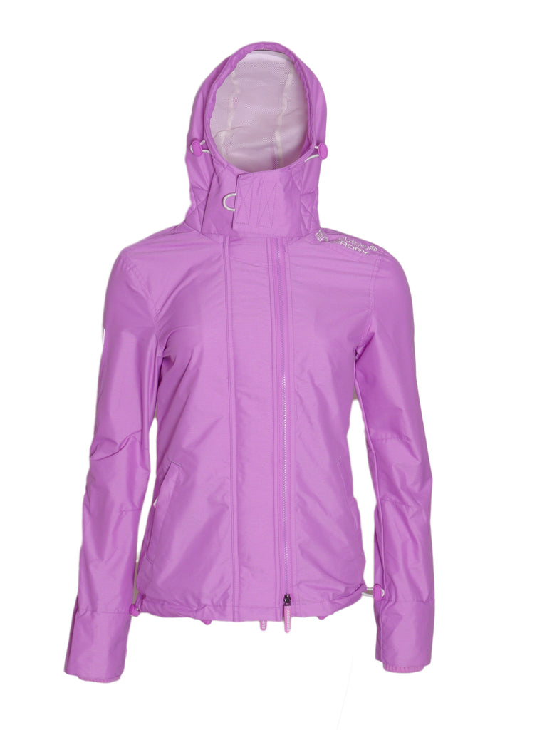 Technical Pop Lilac Jacket By Superdry Womens