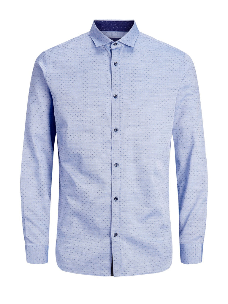 Timmy Slim Fit Detail Shirt by Jack & Jones Premium - Front