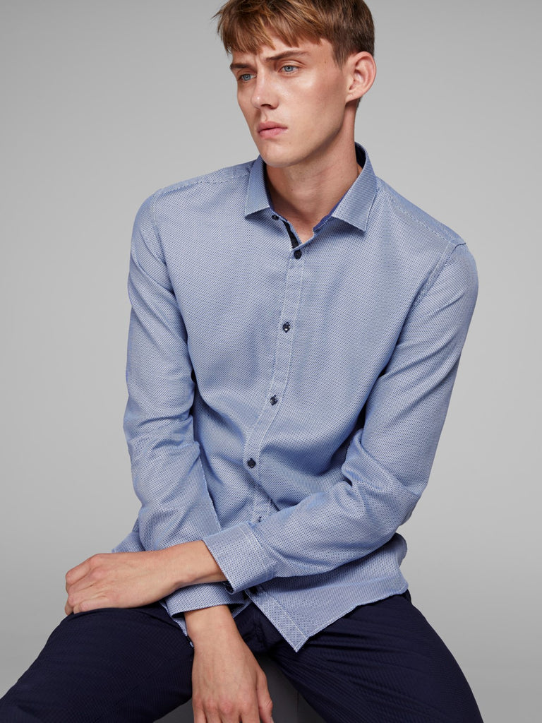 Timmy Maritime Slim Fit Detail Shirt by Jack & Jones Premium - body