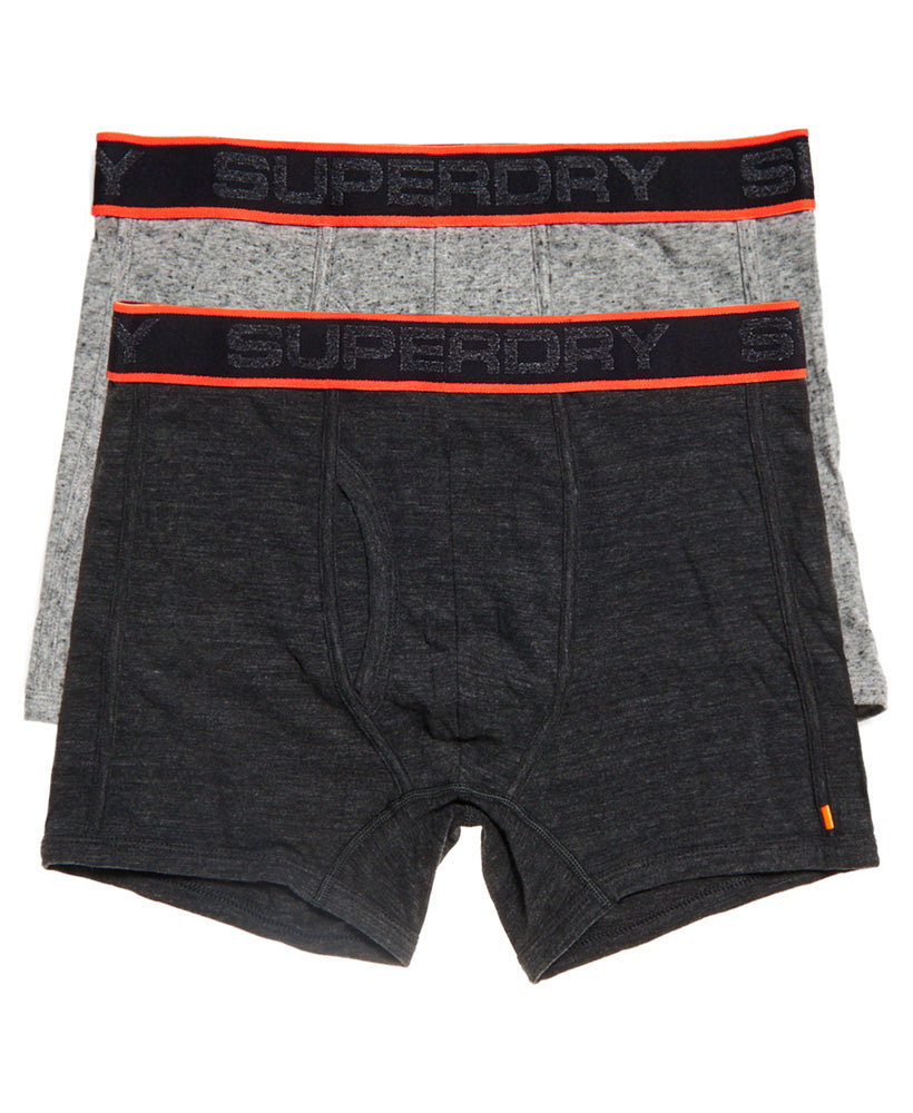 Tipped Sport Boxer Double Pack by Superdry