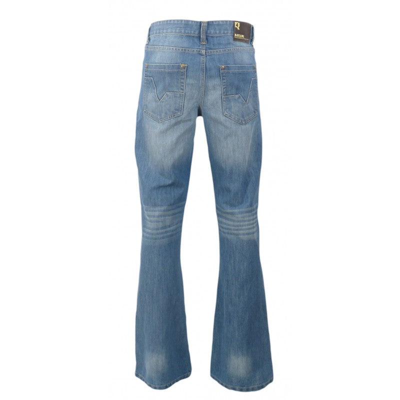 Tower Flare Jeans by R Four Denims