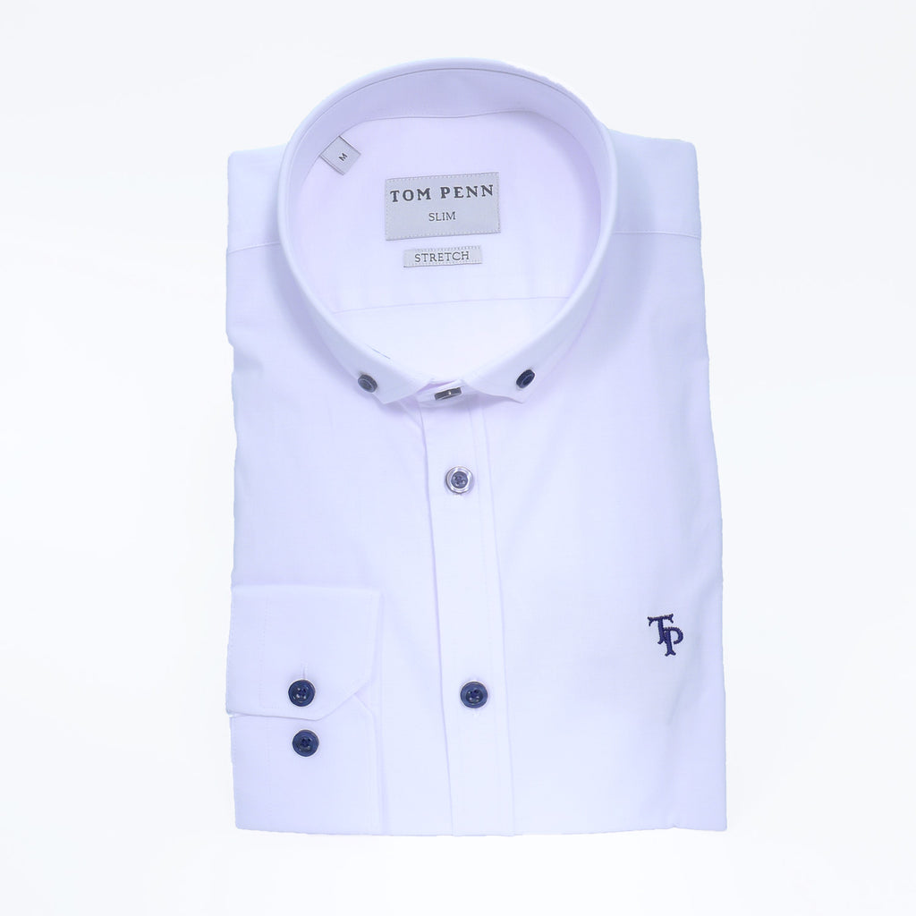 Tom Penn Slim Stretch Shirt