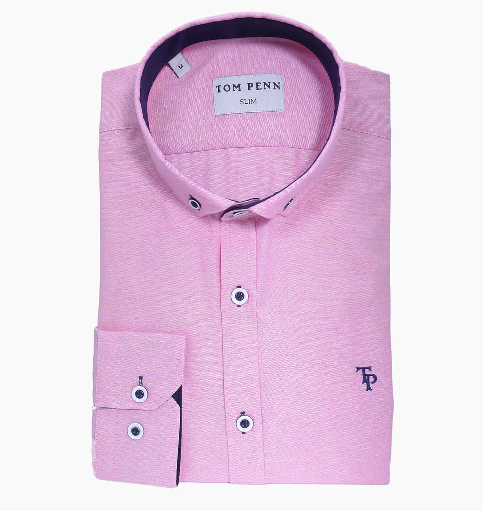 TP466 Tom Penn Pink Shirt