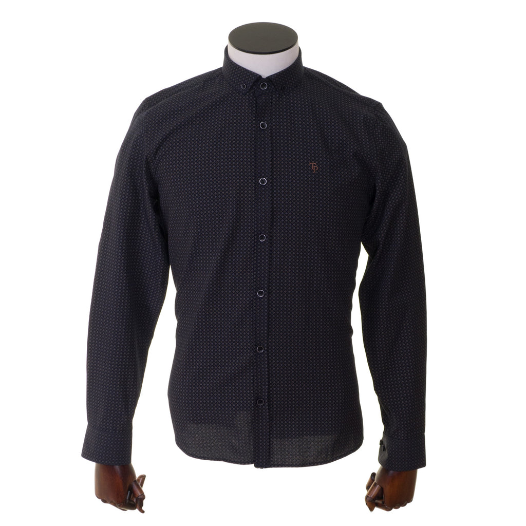 Tom Penn Slim Fit Button Down Shirt