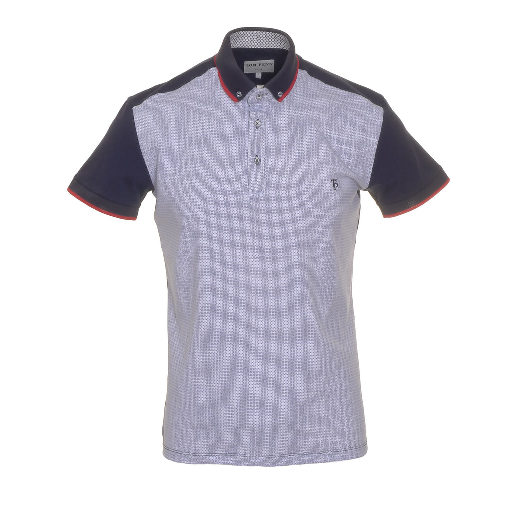 Tom Penn Navy Polo Shirt
