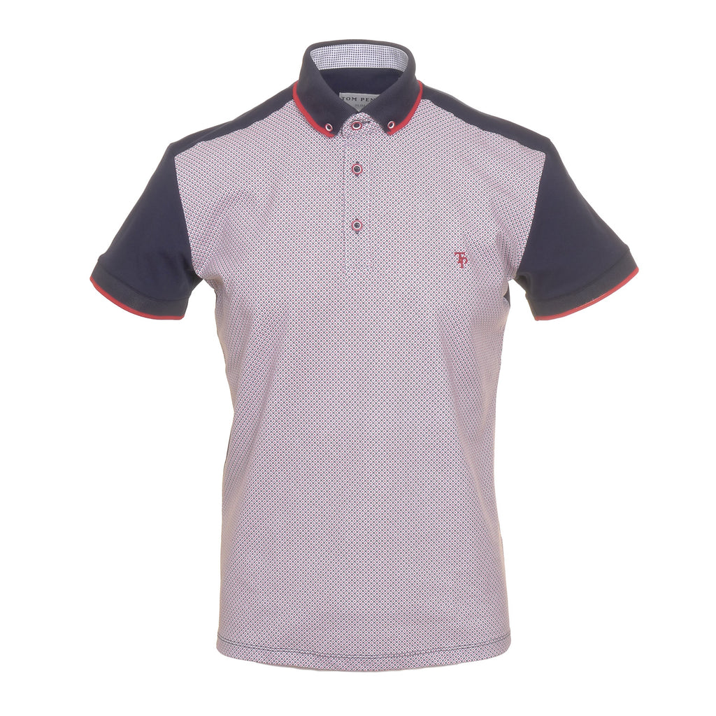 Tom Penn Red Polo Shirt
