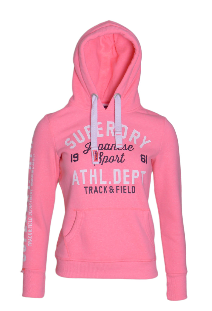 Track & Field Hoodie By Superdry Womens