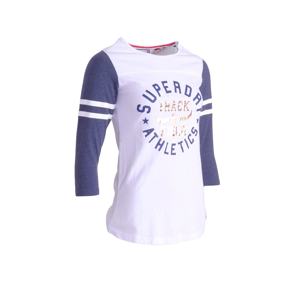 Trackster Baseball Top By Superdry Womens