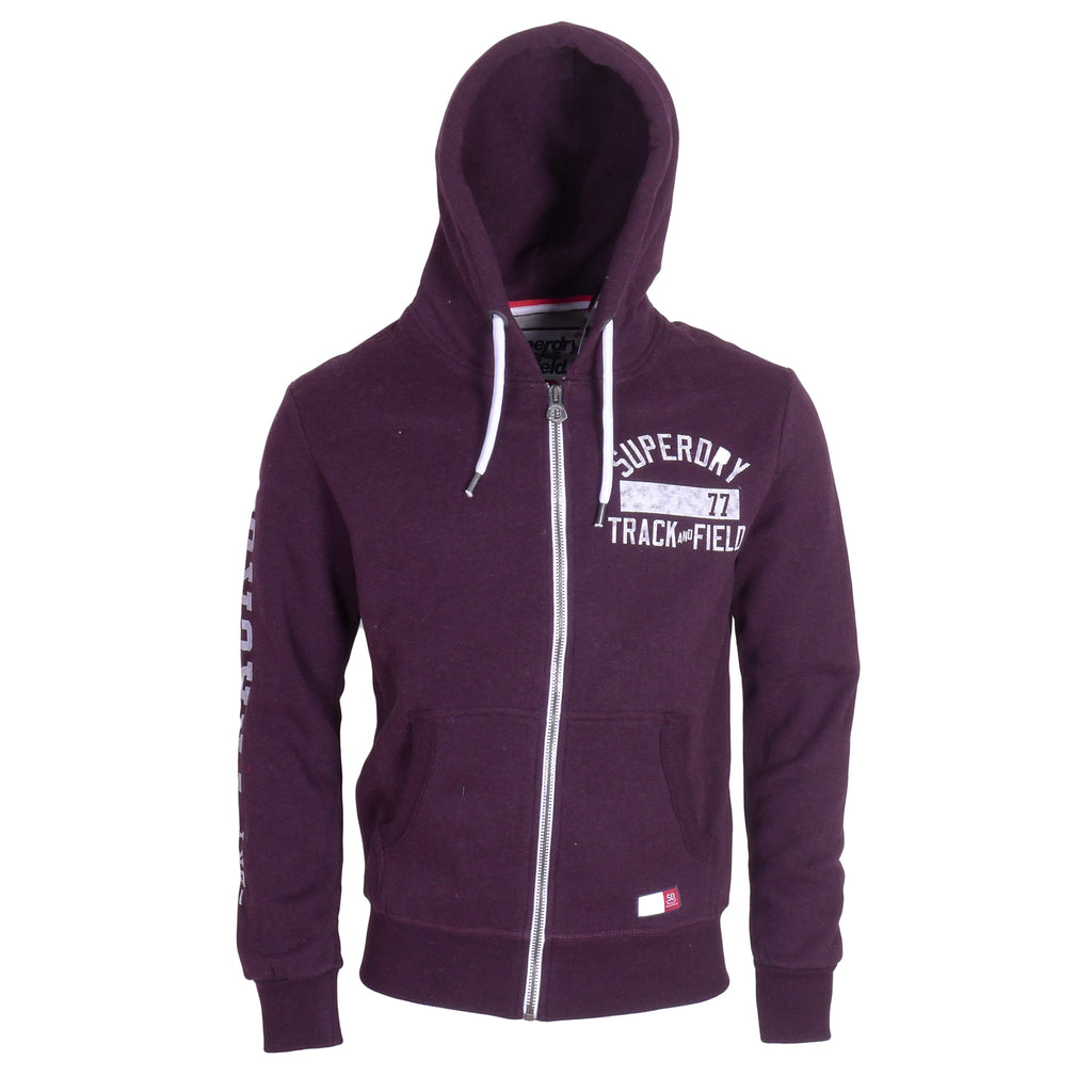 Trackster Blackberry Zip Hood By Superdry