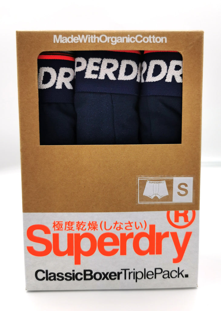Boxer Triple Pack Navy