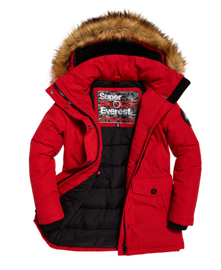 Ashley Everest Red Jacket by Superdry Womens