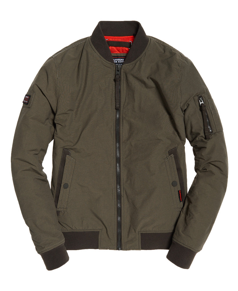 Air Corps light khaki bomber jacket.