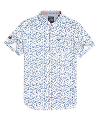 Shoreditch Short Sleeve Lotus Optic Shirt .M40113AT