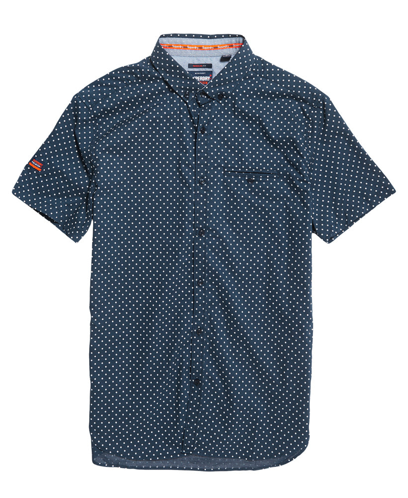 Shoreditch Classic Dot Short Sleeve Shirt