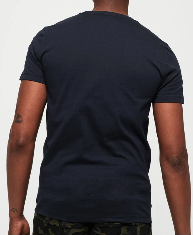 Collective Short Sleeve Box Navy Tee