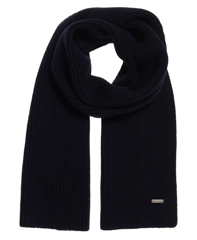 Edit Dark Navy Stretchy Scarf by Superdry