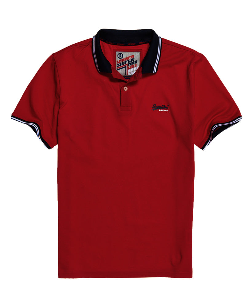 Rouge Red Classic lite micro sports polo