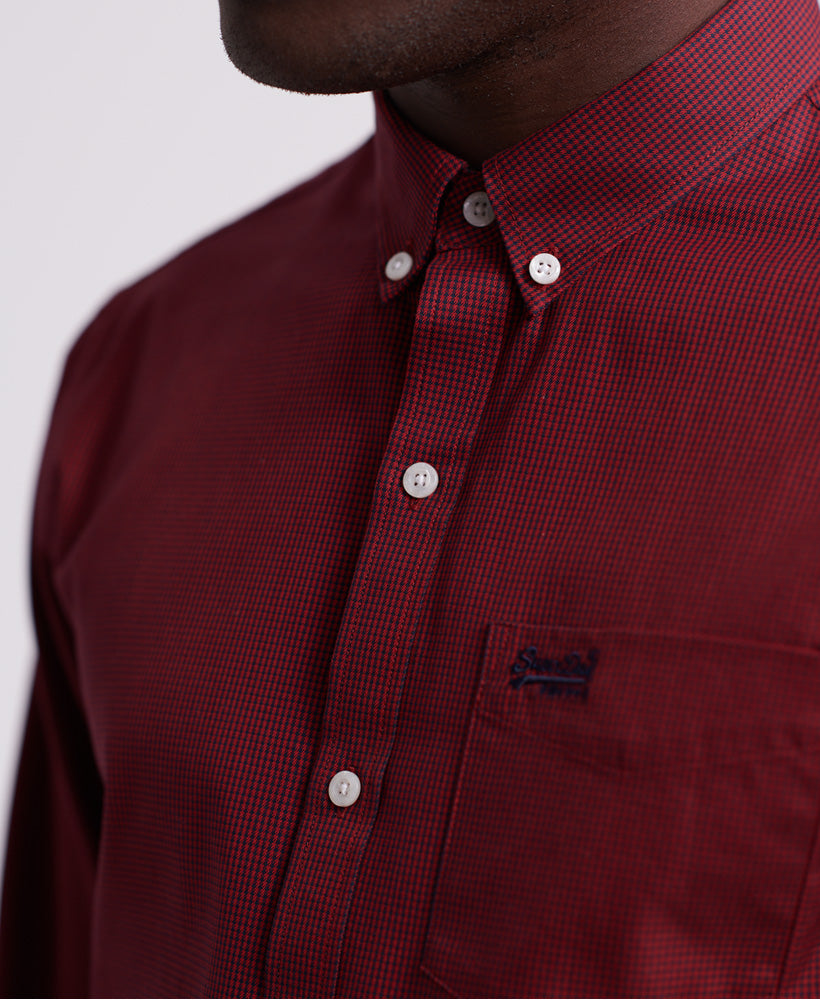 Classic London Red Gingham Long Sleeve Shirt