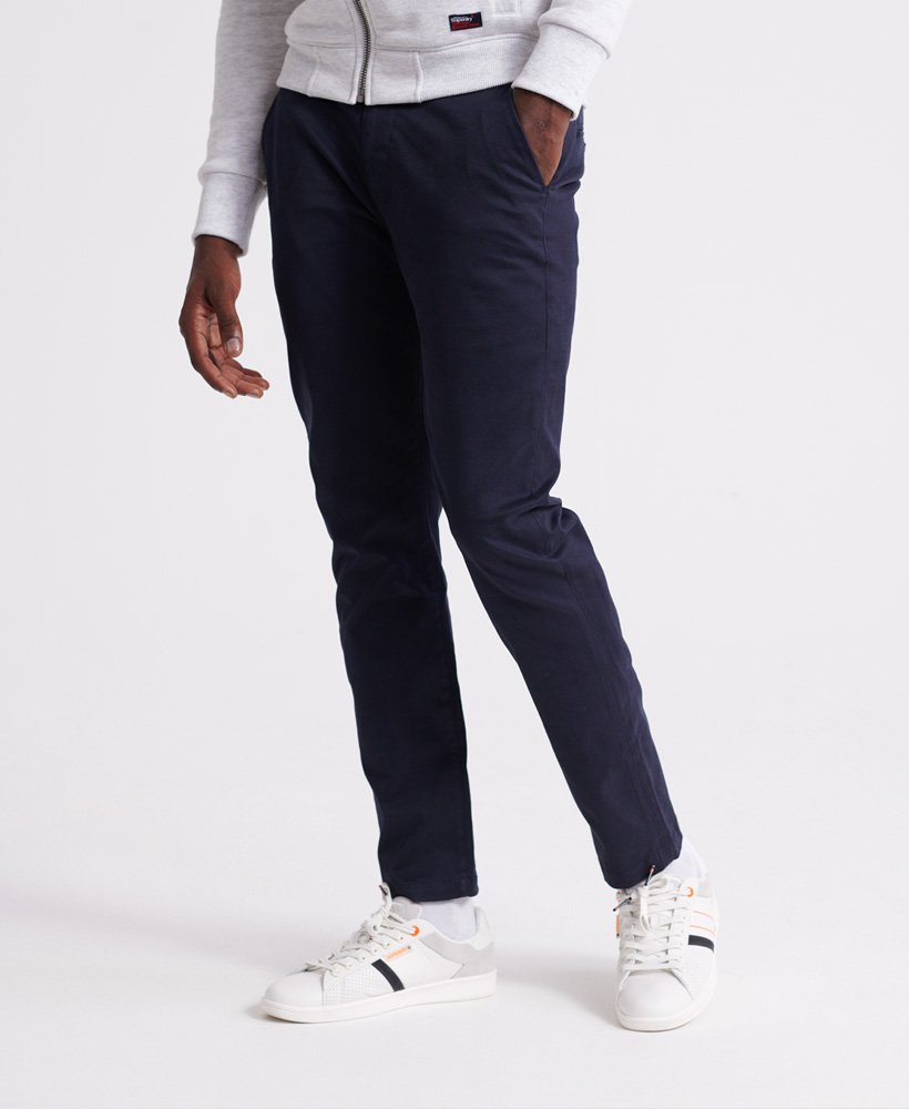Edit Slim Fit Flex Navy Chino by Superdry
