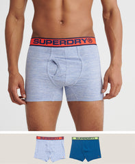 Sport Boxer Blue/Blue Double pack