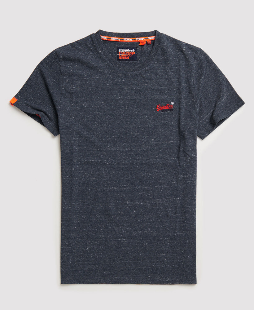 Superdry's Orange Label  Vintage Emb Creek Navy Tee