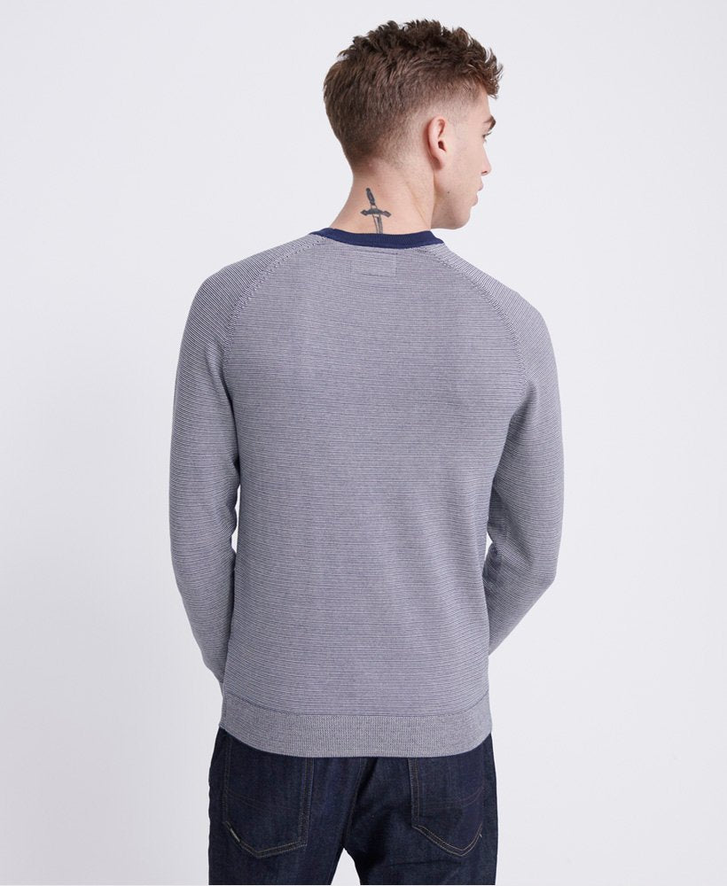 Orange Label Cotton Atlantic Feeder  Crew Neck Jumper
