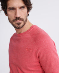 Orange Label Cotton Pink Grindle Crew Neck Jumper