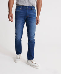 03 Tyler slim fit union dark blue jeans by Superdry