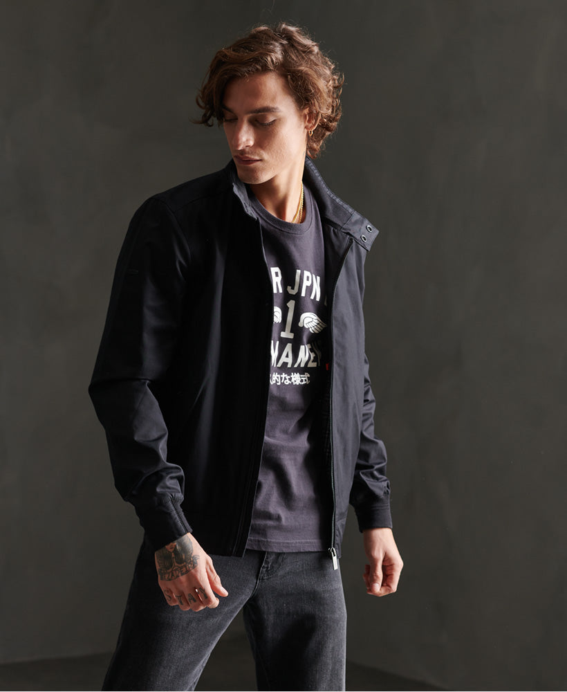 Funnel harrington black jacket by Superdry
