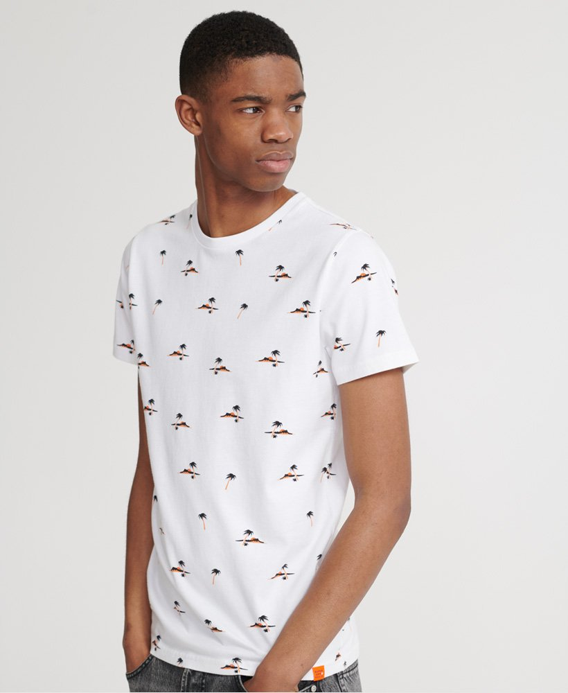 Organic Cotton Optic All Over Print T-Shirt